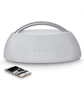 Boxa Wirless Portabila Harman Kardon Go + Play White, conectivitate Bluetooth 4.1