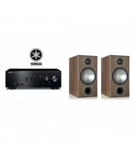 Amplificator Yamaha A-S501 cu Boxe de raft Monitor Audio Bronze 2