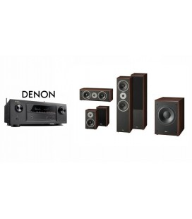 Receiver DENON AVR-X1200 cu Set Boxe 5.0 Magnat Supreme 802 5.1