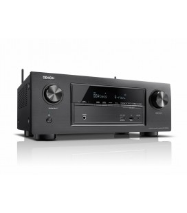 Receiver AV 7.2 Denon AVR-X3300W Black, Wi-Fi, Airplay, Bluetooth, 4K Ultra HD, HDCP 2.2