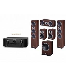 Receiver Marantz SR6010 cu Set Boxe 5.1 Heco Victa Prime 702, 202, C102, SUB 252A