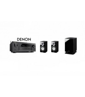 Receiver DENON AVR-X1300 cu Set Boxe 2.1 Magnat Quantum 673, Sub 6725A
