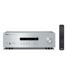 Receiver Stereo hi-fi Yamaha R-S202D Silver, Bluetooth, DAB, DAB+