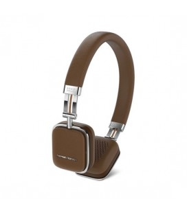 Casti on ear Wireless Harman Kardon SOHO Wireless Brown cu Bluetooth
