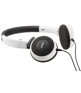 Casti on ear cu microfon AKG Y30 White