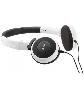 Casti on ear cu microfon AKG Y30 White