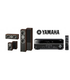 Receiver Yamaha RX-V381 cu Set de Boxe 5.1 Magnat Supreme 802, 102, Center 252