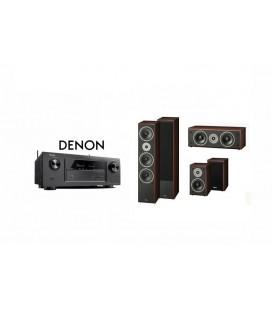 Receiver DENON AVR-X1300 cu Set Boxe 5.0 Magnat Supreme 1002 Plus