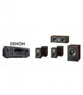 Receiver DENON AVR-X1200 cu Set Boxe 5.0 Magnat Supreme 102, center 252, Sub 202a