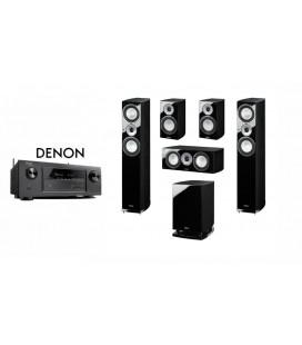 Receiver DENON AVR-X1200 cu Set Boxe 5.1 Magnat Quantum 675
