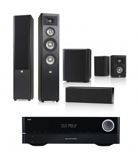 Receiver AV Harman Kardon 171S cu Set de Boxe JBL5.1 Studio 280, Studio 220, Center 225, Sub 250P