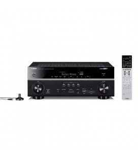 Receiver AV 7.2 Yamaha RX-V781 Black, MusicCast Wi-Fi, Airplay, Bluetooth, 4K Ultra HD, HDCP 2.2Receiver AV