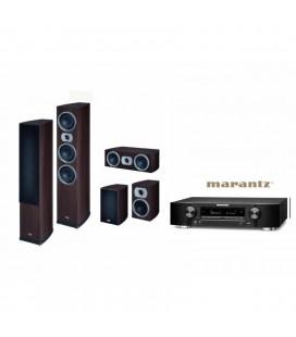 Receiver Marantz NR1606 cu Set Boxe 5.0 Heco Victa Prime 702, 202, C102