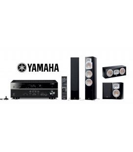 Receiver Yamaha RX-V581 cu Set de boxe 5.0 NS-555, NS-C444, NS-333