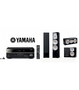 Receiver Yamaha RX-V581 cu Set Boxe 5.0 Yamaha NS-777, NS-C444, NS-333