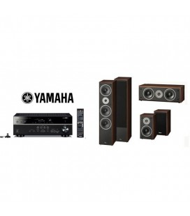 Receiver Yamaha RX-V581 cu Set Boxe 5.0 Magnat Supreme 1002,102,252