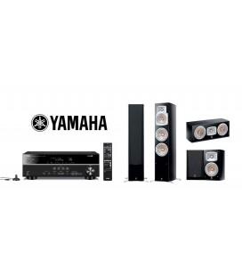 Receiver Yamaha RX-V481 cu Set de Boxe 5.0 Yamaha NS-777, NS-C444, NS-333
