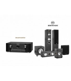 Receiver Marantz SR5011 cu Set Boxe 5.1 Monitor Audio Bronze 5 5.1