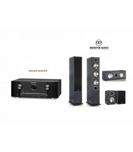 Receiver Marantz SR5011 cu Set Boxe 5.0 Monitor Audio Bronze 6 5.0