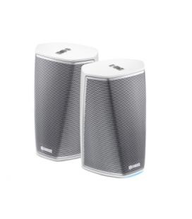 Pachet Stereo cu Boxe wireless Denon Heos 1 White Duo Pack, Wi-fi, Multiroom
