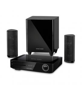 Sistem Home Cinema 2.1 Harman Kardon BDS 385, 4K 3D Blu-ray Disc, Wi-Fi, Bluetooth®