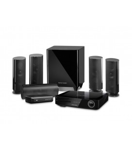 Sistem Home Cinema 5.1 Harman Kardon BDS 885S, 4K 3D Blu-ray Disc, Wi-Fi, Bluetooth®