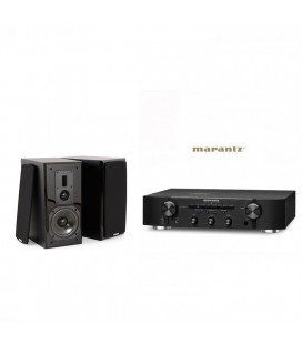 Amplificator Stereo Marantz PM6006 cu Boxe de raft Dynavoice Definition DM-6