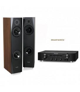 Amplificator Stereo Marantz PM6006 cu Boxe de podea Pylon Audio Sapphire 25