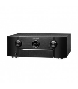 Receiver AV 9.2 Marantz SR6011 Black, Wi-Fi, Bluetooth, 4K Ultra HD, Airplay, HDMI 2.0a si HDCP 2.2, HDR, BT.2020