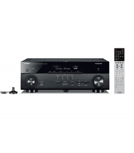 Receiver AV 7.2 Yamaha RX-A660 Black, Dolby Atmos®, DTS:X™, MusicCast Wi-Fi, Airplay, Bluetooth, 4K Ultra HD, HDCP 2.2
