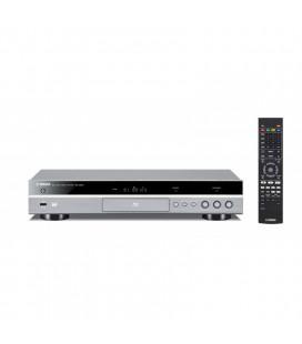 Blu-ray player Yamaha BD-S681 titan, Miracast™, Wi-Fi buit-in, 4K Upscaling