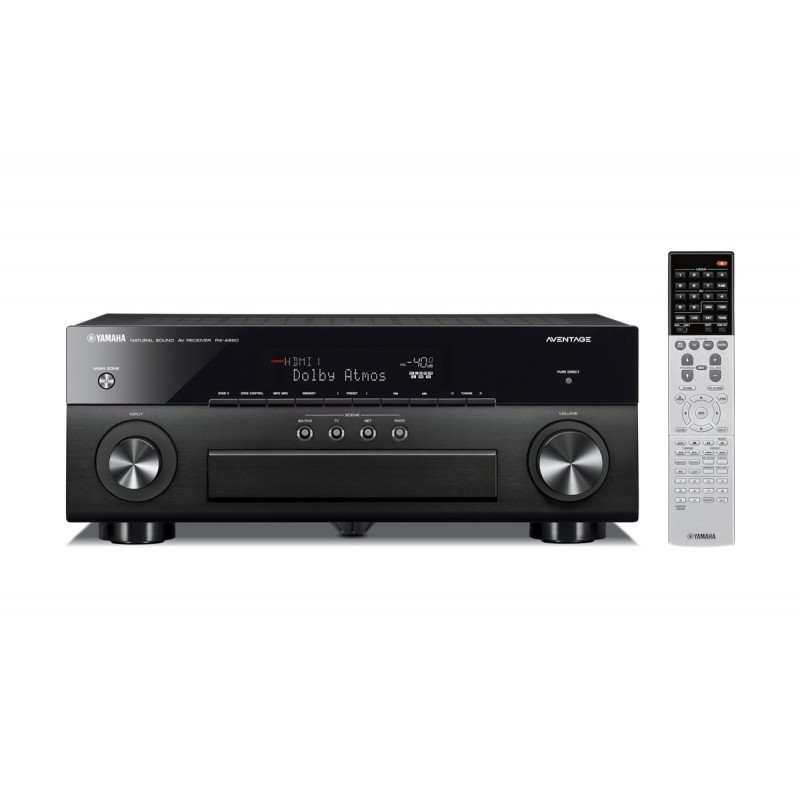 receiver multicanal av yamaha rx a860 black 7 2 canale. Black Bedroom Furniture Sets. Home Design Ideas