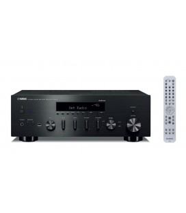 Receiver Stereo Yamaha R-N602 Black, Wi-Fi, Bluetooth, Airplay, MusicCast