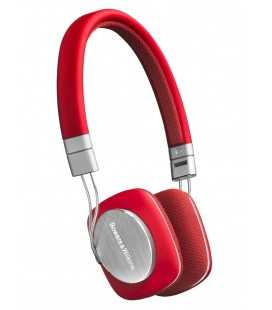 Casti on ear cu microfon Bowers & Wilkins P3 Series 2 Red