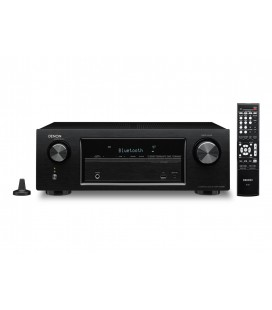 Receiver AV 5.2 Denon AVR-X520BT, Bluetooth®, HDCP 2.2-Capable, 4K Ultra HD Pass-through
