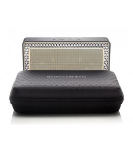 Boxa wireless portabila cu Bluetooth Bowers & Wilkins T7 Gold si Husa Cadou