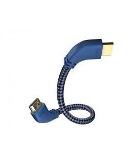 Cablu HDMI Inakustik Premium HDMI 2.0a* Angled, high Speed cu ethernet, 3.0m
