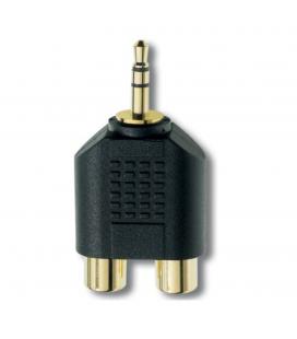 Adaptor audio stereo Inakustik Premium RCA Phone-Plug Adapter