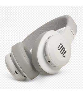 Casti wireless over ear JBl Synchros E55BT White cu Bluetooth