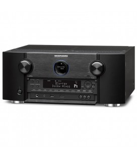 Receiver AV 9.2 Marantz SR7011 Black, Wi-Fi, Bluetooth, 4K Ultra HD, Airplay, HDMI 2.0a si HDCP 2.2, HDR, BT.2020