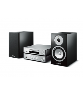 Micro sistem stereo Yamaha MCR-N670 Silver, USB, Wi-Fi, MusicCast, AirPlay® and Bluetooth®.