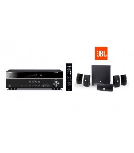 Receiver AV Yamaha RX-V381 cu Set Boxe 5.1  JBL Cinema 610