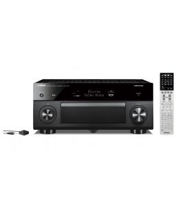 Receiver multicanal AV Yamaha RX-A3070 Black, 11.2 canale, UHD 4K, Dolby Atmos® and DTS-X™, ESS DAC, deezer, Tidal, DAB, DAB+
