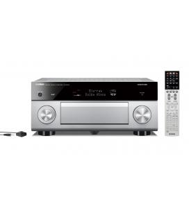 Receiver multicanal AV Yamaha RX-A2070 Titan, 9.2 canale, UHD 4K, Dolby Atmos® and DTS-X™, ESS DAC, deezer, Tidal, DAB, DAB+