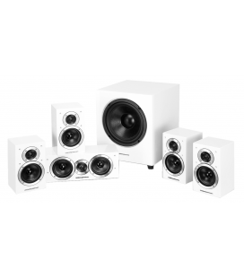 Set de boxe 5.1 Wharfedale Moviestar DX-1SE White