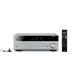 Receiver multicanal AV Yamaha MusicCast RX-V483 Titan, 5.1 canale, WI-FI, Airplay, Bluetooth, 4K Ultra HD, HDCP 2.2