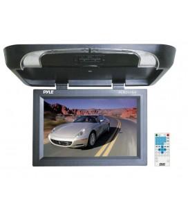 Monitor auto de plafon PYLE PLRD175IF, 17inch, USB, dvd player, Wireless FM Modulator & IR Transmitter