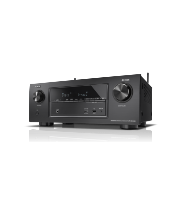 Receiver AV 7.2 Denon AVR-X3400H, 180W per channel, HEOS built-in, Wi-Fi, Airplay, Bluetooth, 4K Ultra HD, Hi-Res
