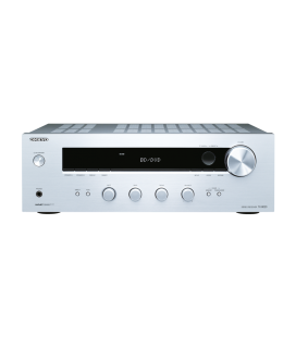 Receiver stereo Hi-Fi Onkyo TX-8020 Silver, Discrete Amplifier Design