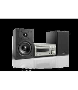 Micro sistem stereo Hi-fi Denon RCD-M41 Silver  cu boxe Denon SC-M41